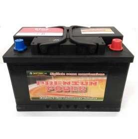 Batteria auto PREMIUM POWER 74 Ah spunto 670A polo positivo Destra LB3 278x175x175