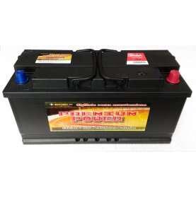 Batteria auto PREMIUM POWER 110 Ah spunto 850A polo positivo destra L5 395x175x190
