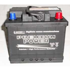 Batteria auto PREMIUM POWER 50 Ah spunto 470A polo positivo destra LB1 207x175x190