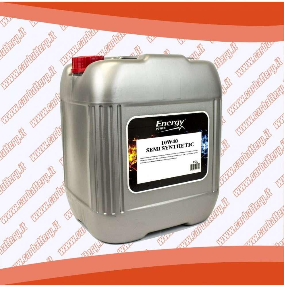 Olio motore auto 10W40 Semi Synt 20 litri