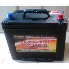 Batteria auto PREMIUM POWER 75 Ah spunto 600A polo positivo Destra 260x173x222