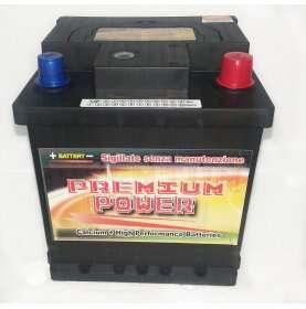 Batteria auto PREMIUM POWER 42 Ah spunto 380A polo positivo destra L0 175x175x190