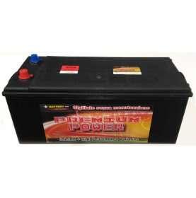 Batteria autocarro PREMIUM POWER 160 Ah spunto 900 polo positivo Destra B 512x220x220