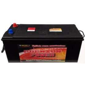 Batteria autocarro PREMIUM POWER 180 Ah spunto 1000A polo positivo sinistra B 512x220x220