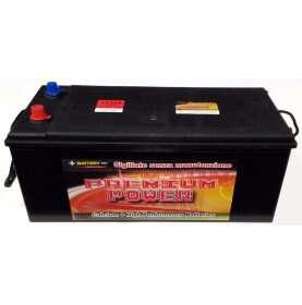 Batteria autocarro PREMIUM POWER 200 Ah spunto 1100A polo positivo Destra B 512x220x220