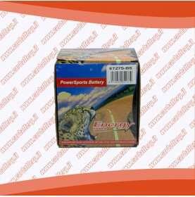Batteria moto YTZ7S-BS ENERGY POWER 6 Ah sigillata con acido polo positivo destra 113x70x105