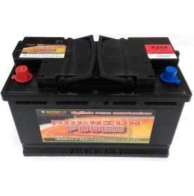 Batteria auto PREMIUM POWER 100 Ah spunto 830A polo positivo sinistra L4 310x175x190
