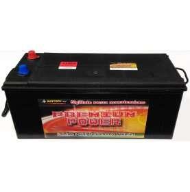 Batteria autocarro PREMIUM POWER 200 Ah spunto 1100A polo positivo Sinistra B 512x220x220