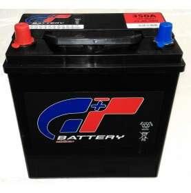 Batteria auto GT 45 Ah spunto 350A polo pos. Sinistra poli piccoli (asiatica) NS40 187x127x226
